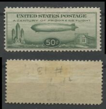 """No: 77410 - USA (1933) - """"ZEPPELIN"""" -  AN OLD 50 C STAMP - MH!!"""