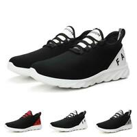Mens Outdoor Running Sports Fashion Sneakers Shoes Mesh Breathable Non-slip 44 B