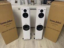 Sonus Faber Toy Tower High End Lautsprecher Paar White / Weiss - Like New