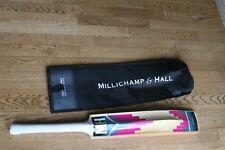 Millichamp & Hall Junior NC 654 Finest Handmade Cricket Bat  NEW w/Storage Bag
