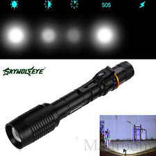 4000LM 18650 CREE XML T6 LED Zoomable Hand lamp Torches Torch lamp & Charger