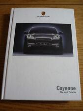 Porsche Cayenne Completo Prestige folleto 2003 Jm