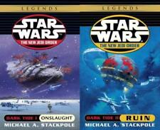 Star Wars DARK TIDE DUOLOGY by Michael Stackpole PAPERBACK Collection Books 1-2