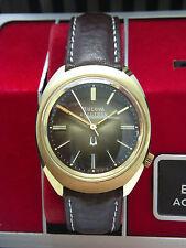 1976 BULOVA ACCUTRON stimmgabeluhr Cal 2191 con scatola, eccellente!