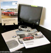 2012 BMW 6 Series 640i 650i Coupe with Navigation Owners Manual Set #B587