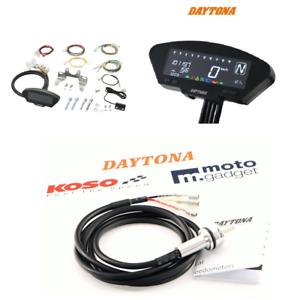 Daytona DEVA01 Digitales Multi Instrument Tacho Sensor Set BMW E-geprüft