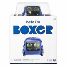 NEW! Boxer Interactive Robot Toy Interactive A.I. Personality Emotions Blue