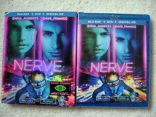 NERVE BLU-RAY+DVD+DIGITAL HD WITH SLIPCOVER - BRAND NEW SEALED