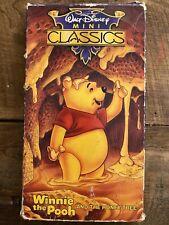 Walt Disney Mini Classics - Winnie The Pooh - And The Honey Tree - VHS