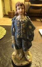 Vintage Lego Blue Boy Figurine/Porcelain
