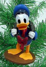 "Disney Mickeys Christmas Carol DONALD DUCK as Fred Figure Christmas Ornament 4"""