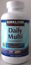 jlim410: Kirkland Signatures Daily Multi Vitamins, 500 tablets Exp. 2/2019