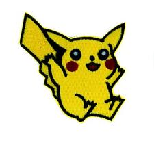 Pikachu Pokemon Go Trainer Patch Iron on Applique Alternative Clothing Anime
