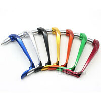 """CNC Brake Clutch Lever Protective Guards Bar Ends Motorcycle 7/8"""" Handle 8 color"""