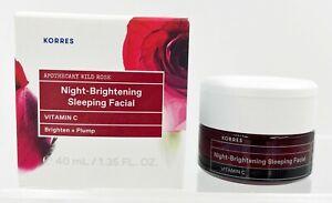 Korres Wild Rose Night-Brightening Sleeping Facial - Full-Size - 1.35 oz / 40 ml