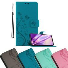 Case for Samsung Galaxy A20e Phone Cover Flower Design Wallet Book