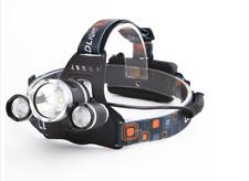 5000LM 3xXM-L T6+2R5 LED 18650 Headlamp Headlight Flashlight Torch Rechargeable