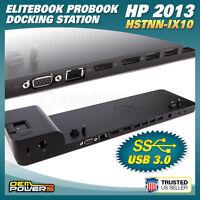 UltraSlim 2013 HP EliteBook ProBook Laptop Docking Station MobileWorkstation