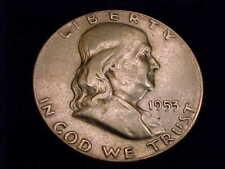 1953 Franklin Half Dollar, Extra Fine Grade.
