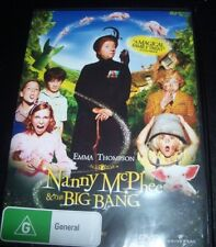 Nanny Mcphee & The Big Bang (Emma Thompson) (Australia Region 4) DVD - NEW