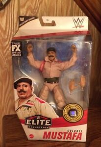 "WWE Elite Collector's Edition Colonel Mustafa IRON SHEIK 6"" Figure New 2021"