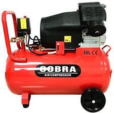 COBRA V Twin 50L Liter Electric Air Compressor 15CFM 3HP 230V 116PSI Portable