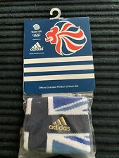 Adidas Team GB SWEATBAND LONDON 2012 Olympic Games  - Wrist Band New In Pack