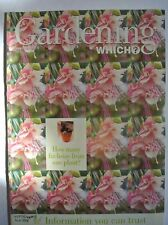 Gardening Which? Magazine. January/February 1998. How many fuchsias from one pla