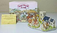 David Winter Cottages - Cotswold Village 1982 - ORIGINAL BOX & COA