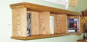 DVD Wall Cabinet Storage / Wall Shelf / DVD / Video Game Storage Shelf