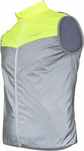 ROCKBROS Reflective Vest for Men Women Cycling Safety Vest Breathable Sleevele