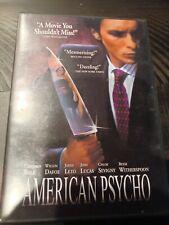 American Psycho (Dvd, 2003) Christian Bale best movie!