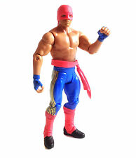 "WWF WWE Wrestling  Los Matadores Mattel 6"" poseable toy action figure, RARE"