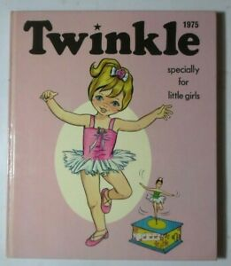 TWINKLE SPECIALLY FOR LITTLE GIRLS 1975 ANNUAL NOT PRICE CLIPPED