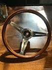 1986-1989 Jaguar Steering Wheel Nardi Wood