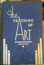 RARE Vintage Book THE TEACHING OF ART by Genevieve Dorney Art Deco Cover 1935
