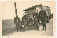 3 x Foto, Kampfgeschwader 55, Lkw, Gasmaske, Biarritz, (G)19389