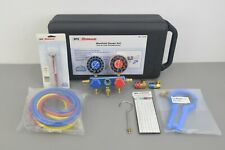 New SPX Robinair R134a Manifold Gauge Set 13136 w/ Case HVAC A/C Refrigeration