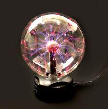 "Lot of 6 - 8"" PLASMA Nebula BALL Lightning Party Light TOUCH & SOUND Activated"