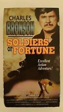 Soldiers of Fortune You Can't Win 'Em All VHS Charles Bronson, Tony Curtis OOP