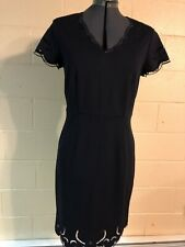 Tahari Dress Size 6 Navy