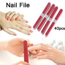 40pcs Sanding Buffer Block Grinding Stick Dead Skin Remove Scrub Stick File yz
