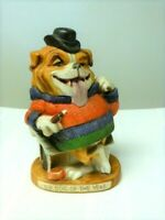English Bulldog, Dirty Dogs, 1973, Top Dog Of The Year Figurine, Made In Japan