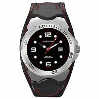 Mountaineer Mens Sport Watch Big Black Dial Date Waterproof Relojes de Hombres