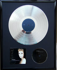 "Celine Dion Let's talk infissi CD COVER +12"" VINYL d'oro/platino disco"