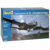 REVELL® 1:72 AVRO LANCASTER B.III 'DAMBUSTERS' MODEL AIRCRAFT KIT WW2 WWII 04295