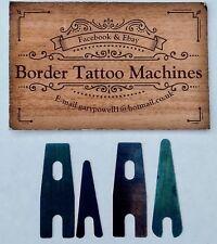 BORDER TATTOO MACHINE (HAND PRESSED) BLUED LINER & SHADING SPRINGS 18g
