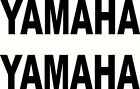 2 YAMAHA Vinyl Decal Decals Sticker Stickers Motorcycle Dirt Bike Badge Emblem