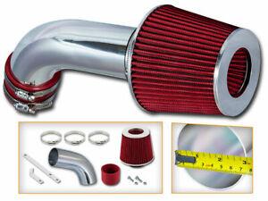 Racing Air Intake Kit + RED for 05-08 VW Golf GTI Jetta Passat Turbo 2.0L L4