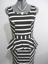 Stripes Stretch Dresses for Women